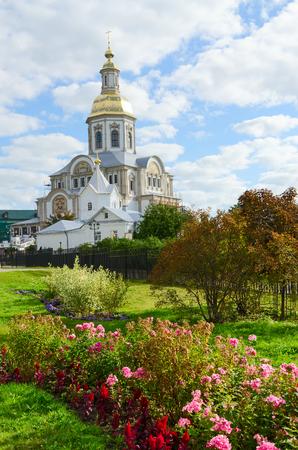 blagoveshchensky: Annunciation Cathedral in Holy Trinity Seraphim-Diveevo convent in village Diveevo, Nizhny Novgorod region, Russia