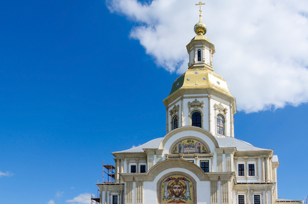 blagoveshchensky: Annunciation Cathedral, Holy Trinity Seraphim-Diveevo convent in village of Diveevo, Russia