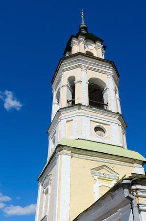 bell tower: The bell tower of the church Nikolo-Kremlevskaya, Vladimir, Russia