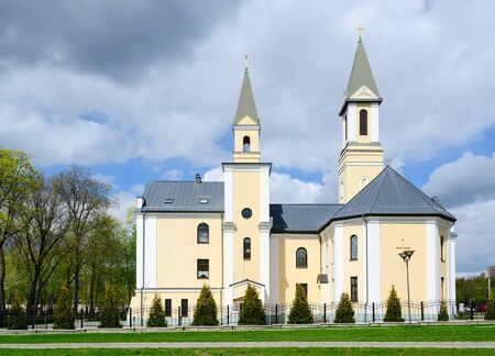 Catholic church of the Nativity of the Blessed Virgin Mary, Gomel, Belarus