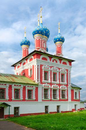 Church of Tsarevich Dmitry on Blood, Uglich Kremlin, Golden Ring of Russia
