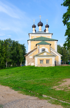 uglich russia: Church of Holy Martyrs Florus and Laurus, Uglich, Russia. Built in 1762 Stock Photo