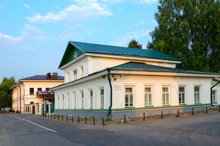 merchant: PLES, RUSSIA - JULY 20, 2016: House Museum of Isaac Levitan (former house of merchant Solodovnikova), Ples, Russia