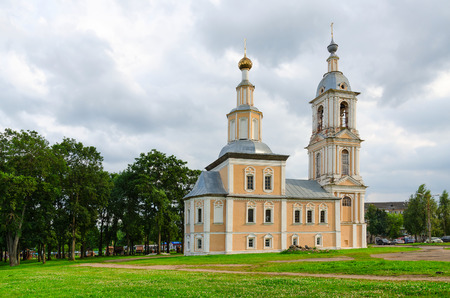 uglich russia: Church of Kazan Icon of Mother of God (lower church of Candlemas of Lord), Uglich, Russia