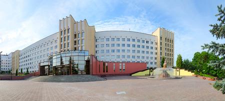 peoples: VITEBSK, BELARUS - JULY 13, 2016: Vitebsk State Order of Peoples Friendship Medical University, Belarus