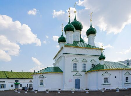 kostroma: Church of Saviour in ranks, Kostroma, Golden ring of Russia