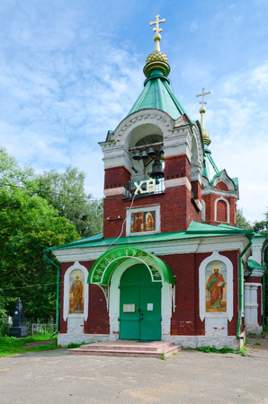 introductions: Vvedenskaya Church (Church of Entry of Mother of God in Temple), Kalyazin, Russia