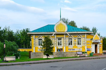 uglich russia: UGLICH, RUSSIA - JULY 19, 2016: Museum of city mode of life in old Russian town of Uglich, Golden Ring of Russia