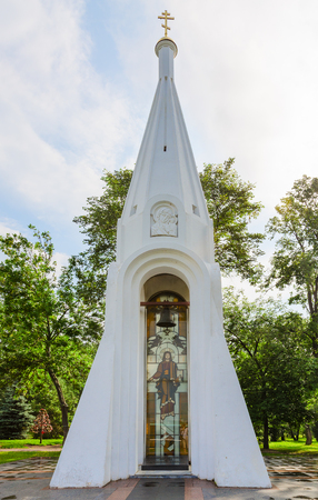 Chapel of Our Lady of Kazan (monument to militia of 1612), Yaroslavl, Golden ring of Russia
