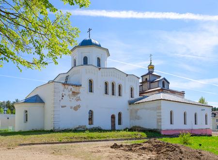 Church of Holy Great Martyr and Healer Panteleimon in urban settlement of Ruba, Vitebsk region, Belarus