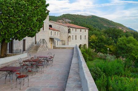 Territory of Monastery Podmaine, or Podostrog, Budva, Montenegro