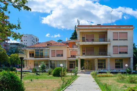 TIRANA, ALBANIA - SEPTEMBER 6, 2017: Former residence of Communist dictator of Albania Enver Hoxha