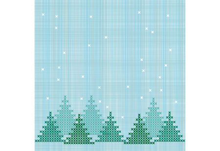 embroidered winter background
