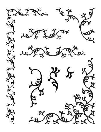 elements of floral ornament