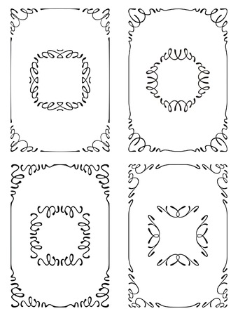 set of frames Illustration