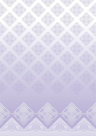 background with elements of ornament Illustration