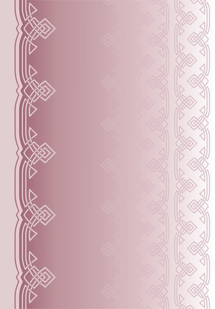 abstract background with elements of ornament