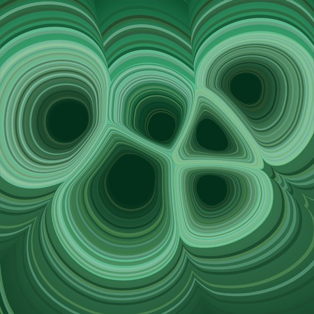 vector illustration of a malachite texture background
