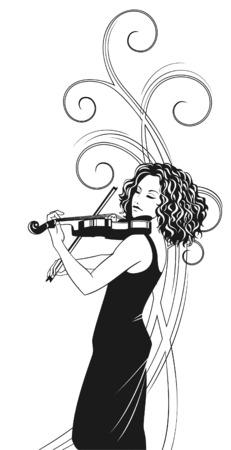 fiddles: violinist