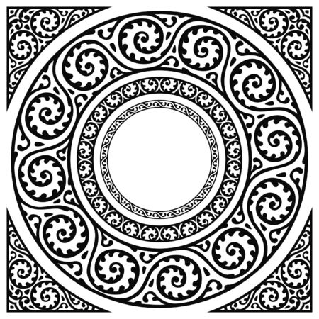 cercle cadres et coin