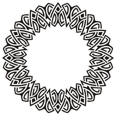 circle frame Ilustração
