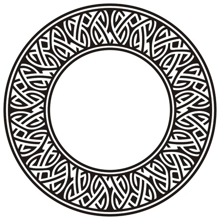 circle frame Illustration