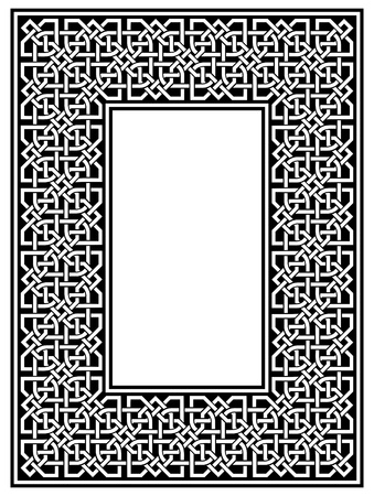 ornamental border Illustration