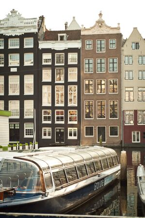 canal houses: Amsterdam canal houses