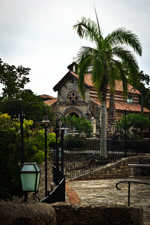 St. Stanislaus Church in Altos de Chavon, La Romana, Dominican Republic