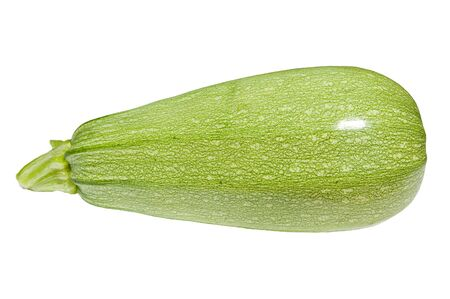 vegetable marrow: Green vegetable marrow isolated. Zucchini