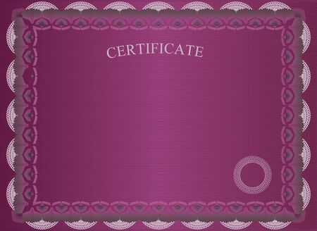 certificate border: Vinous official certificate.