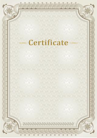 beige: beige official certificate