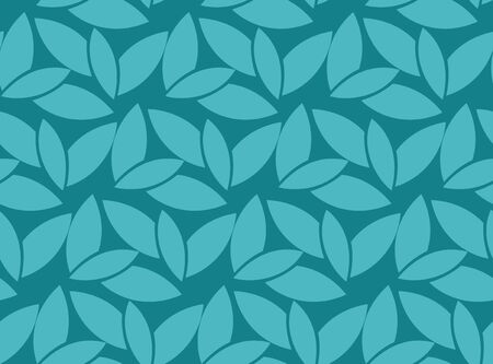 seamless pattern: Abstract Leaf seamless pattern