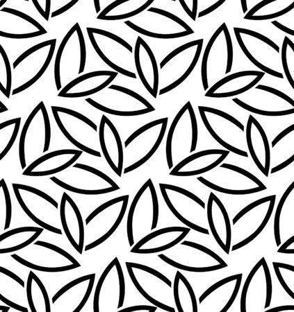 seamless pattern: Seamless leaf pattern