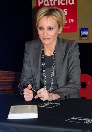 esc: PARIS - MARCH 30: Patricia Kaas, French singer and the Eurovision Song Contest 2009 participant dedicates new album Kabaret on March 30, 2009 at FNAC Forum in Paris, France