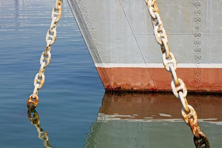 depth measurement: Ship Stock Photo