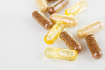 Natural vitamin supplements Фото со стока