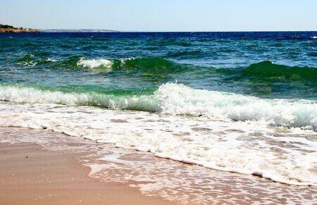 el sheikh: Coastline of Red Sea Sharm El Sheikh Egypt  Stock Photo