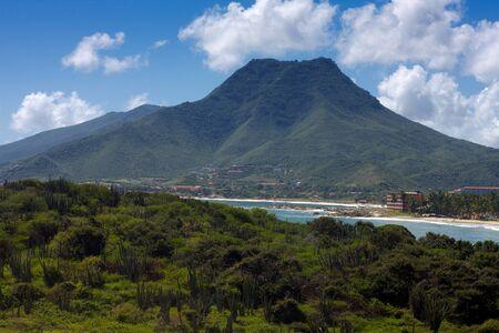 el: Playa El Tirano and Guayamuri Mountain, Venezuela, Isla Margaritha