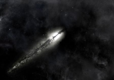 celestial body: The flight of the space object