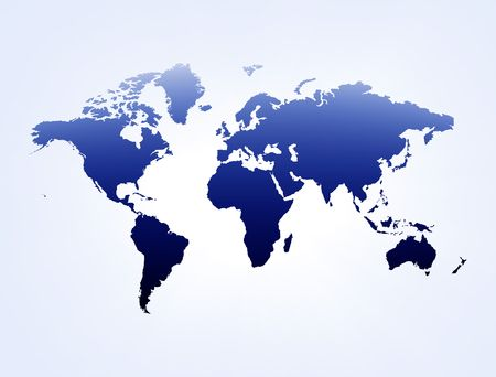 russland karte: Blau-Wei�-Darstellung abstrakter Hintergrund mit Karte