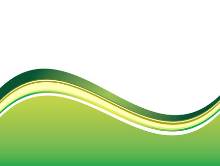 Vector abstract white background with colorful wave Vectores