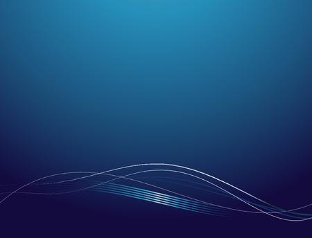 Hintergrund glatt mit abstrakten Linien und Wellen