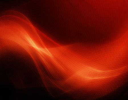 Modern red background with abstract smooth lines Foto de archivo