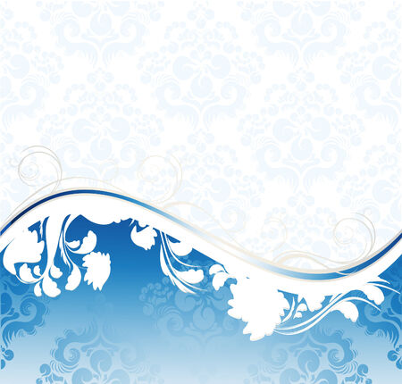 Floral wave Stock Vector - 5399567