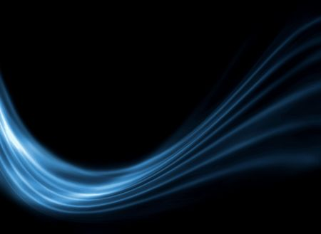 Black and blue modern futuristic background with abstract waves Stock Photo - 7233541