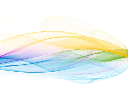 bitmap: Abstract modern futuristic white and colorful background (bitmap)