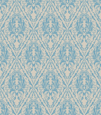 Floral seamless vector royal beauty vintage pattern Vector