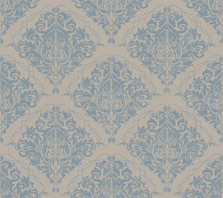 Floral grunge grijs en blauw oude schoonheid vintage achtergrond Vector Illustratie