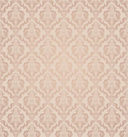 papel tapiz: Decorativo sin fisuras belleza floral ornamento de la vendimia Vectores